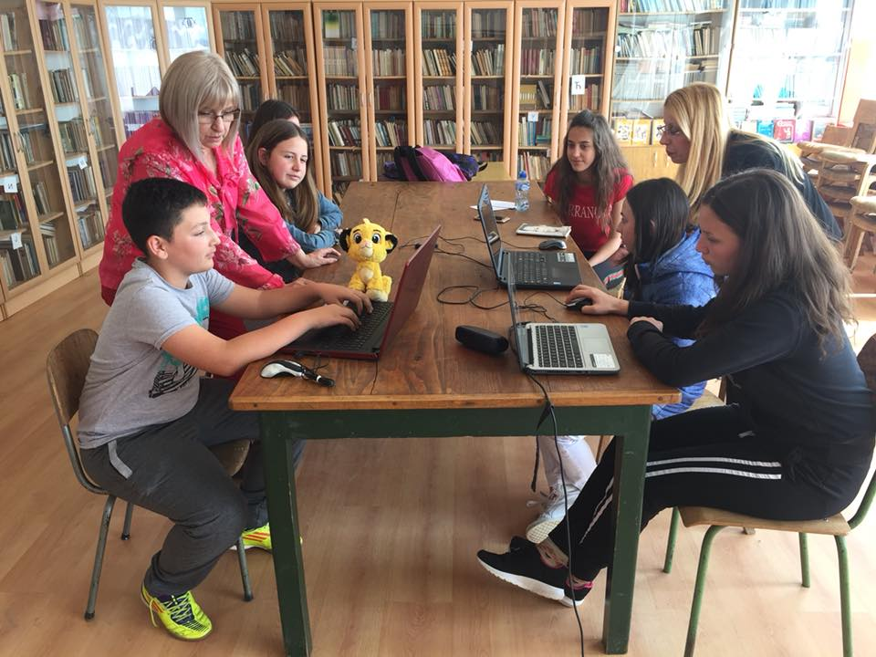 Работилница со младите википедијанци од Старо Нагоричане